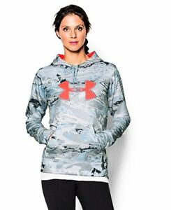 Under Armour Women's Fleece Camo Big Logo Hoodie - Choose SZColor