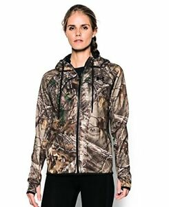 Under Armour Women's Icon Camo Full Zip Hoodie - Choose SZColor