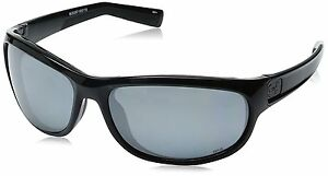 Under Armour Capture Oval Sunglasses Ansi Shiny Black  Black Frame  Gray Lens