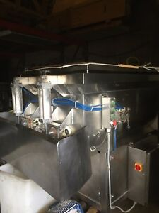 Used- FPEC Food Processing Equipment Company Twin Shaft Paddle Mixer Approximat