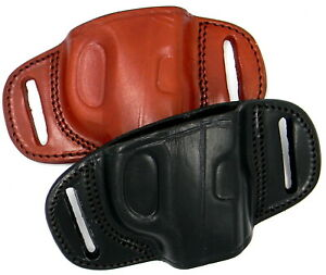 TAGUA Right Hand Leather Quick Draw Belt Slide OWB Holster CHOOSE GUN $37.80