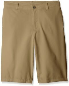 Under Armour Boys' Medal Play Golf Shorts CanvasGraphite Youth Small