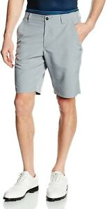 Under Armour Men's Match Play Tapered Shorts SteelTrue Gray Heather 34