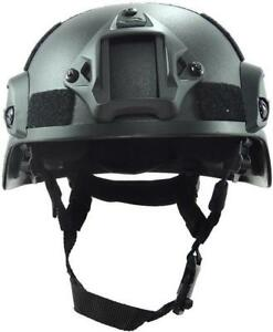 MICH2000 Army Tactical ABS Helmet Chin Strap Airsoft Gear Head Protector
