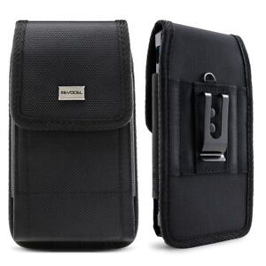 Cell Phone Pouch with Belt Loop and Metal Clip Holster 3 Sizes Evocel $10.99