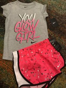 BTS NWT NIKE size 6 GIRL 2-pic SET