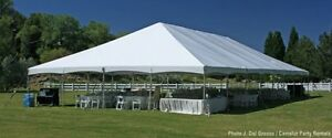 40x60'' NEW Commercial High Tech Frame Party Tent George Maser
