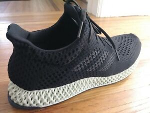 Men's Adidas 4D Futurecraft Runner 3D Printed Size 11 - New Authentic!