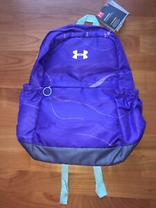 NWT Under Armour Favorite Backpack Girls Constellation Purpleapollo Gray