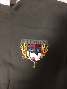 WOODSTOCK 99 VINTAGE ARTIST BACKSTAGE PROMO SHIRT METALLICA RED HOT CHILI PEPPER $75.00