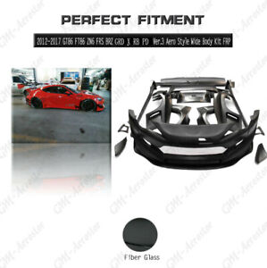FRP Greddy X PD Ver.3 Aero Style Body Kit For 12-18 Toyota GT86 FT86 ZN6 FRS