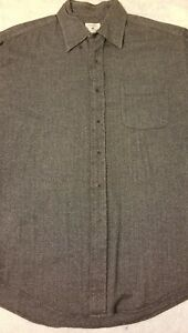 Brooks Brothers Sport Mens Dark Blue Cotton Button-front Shirt Size Large