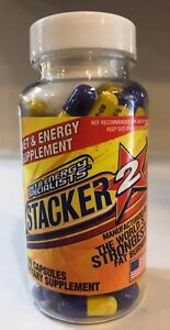 Stacker 100ct Extreme Fat Burner New Sealed Free Fast Shipping Stacker