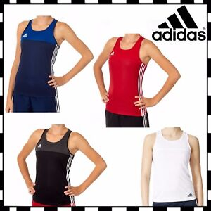 Adidas T16 Tank Top Womens Girls  Ladies Climacool Sport Running Gym T-Shirt