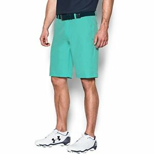 Under Armour Mens Match Play Vented Shorts MintAcademy 34