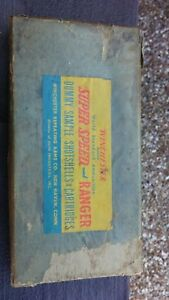 Vintage Winchester Dummy Salesman Sample Shell Ammo Box Store Display Sign
