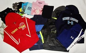 Boy's Clothing Lot Size 6-7 S NIKE Under Armour POLO Timberland Hoodies Shirts