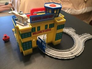 Thomas the Train Take Along Sodor Airport Playset With Jeremy and Harold