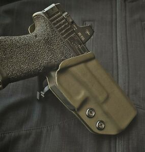 Glock 19 23 Competition Holster BLACK from LegacyFirearmsCo.com