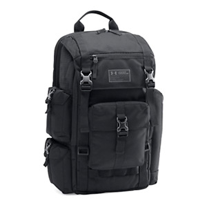 UA Storm Under Armour Extremely Durable Cordura Regiment Backpack Black One Size