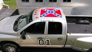 GENERAL LEE replica Decal Magnets DUKES OF HAZZARD Vehicle Lettering