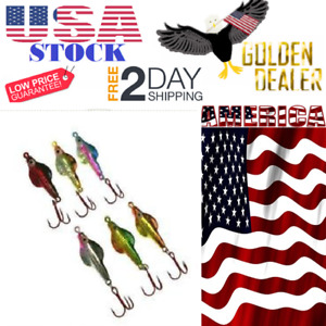 6pc 316 Ounce Jig Bait Lure Hook Kit for Ice Fishing Cold Weather Angling