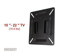 LCD/LED TV Wall Mount Fixed Bracket for 10-22 10 15 16 18 20 22 Inches