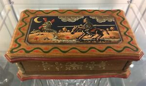 Don Quixote Reuge Swiss Movement Music Box The Impossible Dream