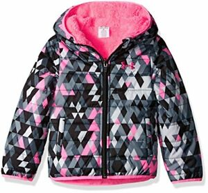 Under Armour Girls' Tri Meta Feature Reversible Puffer - Choose SZColor