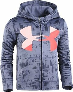 Under Armour Girls' Painted Streaks Hoody - Choose SZColor
