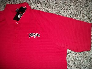 UNDER ARMOUR Maryland Terrapins New NWT Mens Polo Shirt Red Loose Fit Medium 5XL