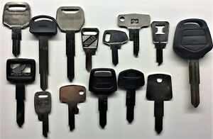 Honda Motorcycle Keys Cut to Code Replacement Spare New Ignition precut Key