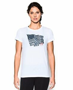 Under Armour Women's Charged Cotton Tri-Blend Proud To Be T-Shirt