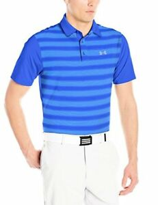 Under Armour Men's Flagstick Stripe Polo - Choose SZColor