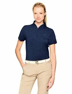 Under Armour Women's Threadborne Zip Polo Shirt - Choose SZColor