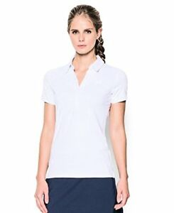 Under Armour Women's Zinger Stripe Short Sleeve Polo - Choose SZColor