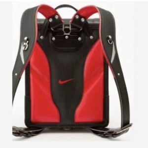 Nike school bag Black × Red Sold out goods rare Backpack FS from japan