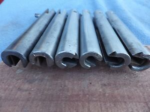 Six RAMs for Pacific Reloading Press One each 257 30-30 270 38A + two #1s