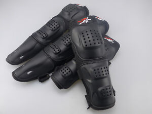 4Pcs Kit Adult Elbow Knee Shin Armor Guard Pads Protector for Motorcycle Bike US