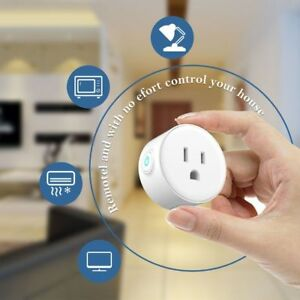 WiFi Wireless Smart Timer Plug Socket App Remote Control Power Switch Outlet US