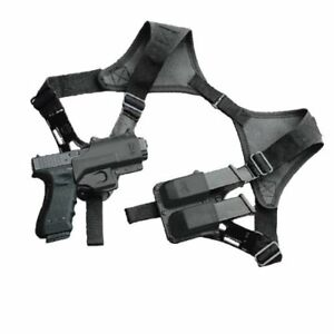 Fobus SHR2 Shoulder Harness Only, Ambidextrous (Double) for Roto Holsters