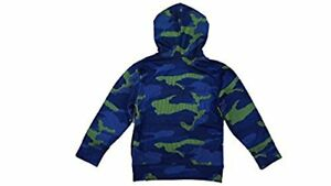 Under Armour Boys' Pre-School UA Future Camo Hoodie (7 Hyper Green)