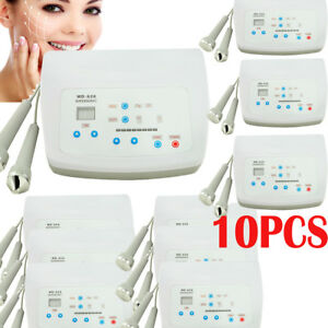 10X Ultrasound Facial Skin Massager Beauty Therapy Ultrasonic Anti-aging Factory