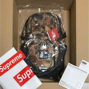 Supreme north face pocono backpack dead leaves free shipping from japan