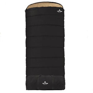 X Large Black Sleeping Bag Double Layer Camping Equipment Gear -35Degree 90x39in