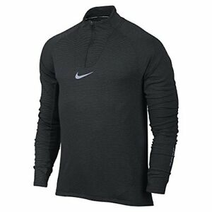 Nike Mens Aeroreact Long Sleeve Running Shirt (XX-Large)