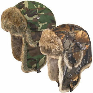 Fold Down Ear Flying Hat Ideal for Outdoors Hunting Fishing and Cold Weather