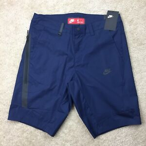 Nike Shorts Sportswear Bonded Mens Blue Size 34 Golf shorts 823365-451