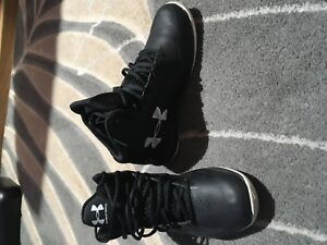 Under Armour Youth Boys Black Basketball Sneakers Size 7 Y