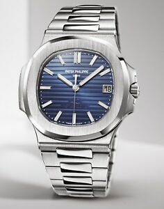 Patek Philippe Nautilus 57111P 40mm Platinum 40th Anniversary Limited 700 Pcs